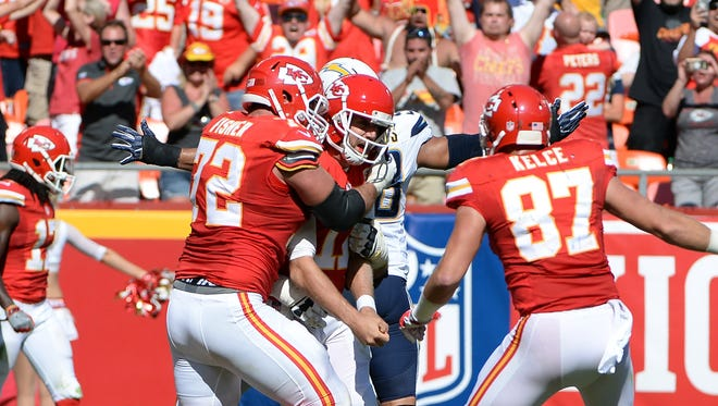 Chiefs quarterback Alex Smith is coming off a career day in Week 1, when he threw for 363 yards and two TDs, then ran for the game-winning score in overtime.
