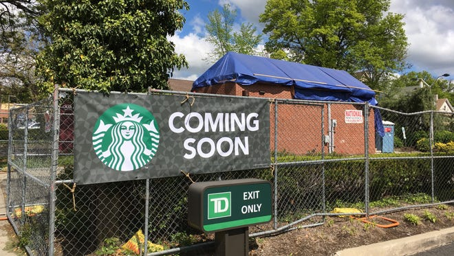 Starbucks' new drive-through-only location in Ridgewood will be at the site of a former bank.