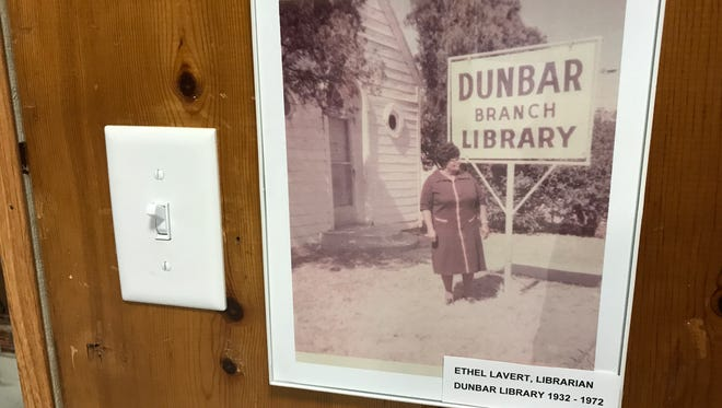 Ethel Lavert, the original librarian, ran Dunbar Library with a firm and loving heart. Several people recalled her fondly at the restored library's grand opening.