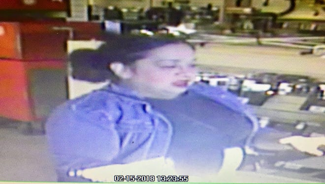 Sparks police are looking for this woman, who is suspected of stealing a $4,000 necklace from Super Pawn on South Rock Boulevard.