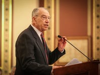 Chuck Grassley, on the Senate floor, says Mollie Tibbetts' death was a 'preventable' tragedy