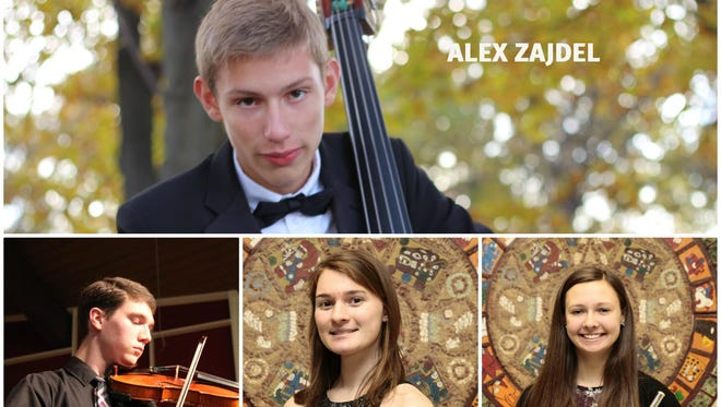 The Plymouth-Canton Educational Park music program had six students make the All-State Band Program, as well as one honorable mention selection. The students are Jeremy Cleary, Alexa Elkouri, Nate Lewis, Alex Zajdel, Weston Welch, Sarah Wene and Laura Hull.