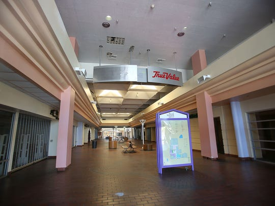 "The vacant Palm Springs mall was used in a Classixx video called ""Just Let Go."""