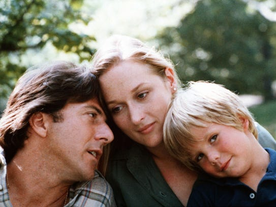 Dustin Hoffman, Meryl Streep and Justin Henry in 'Kramer