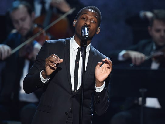Retro R&B artist Leon Bridges played Cliff Bell's in