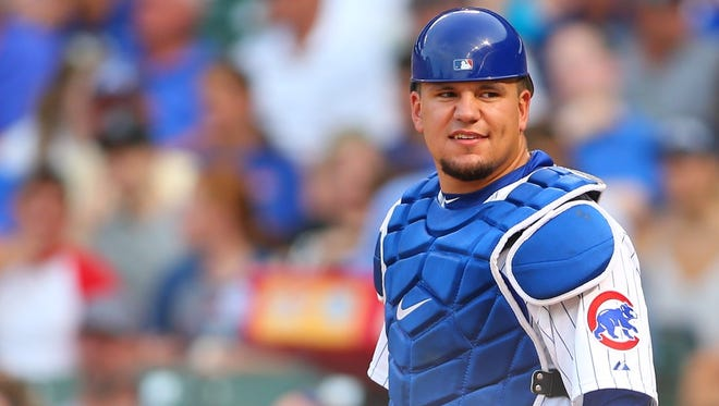 Cubs catcher/left fielder Kyle Schwarber