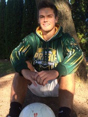 Green Bay Preble senior Max Starks is a two-year captain on the boys soccer team and has a 3.96 GPA.