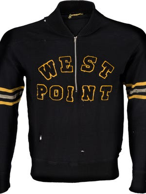 This jacket is believed to have been owned and worn by legendary Green Bay Packers coach Vince Lombardi while he was an assistant at West Point from 1949 to 1953.