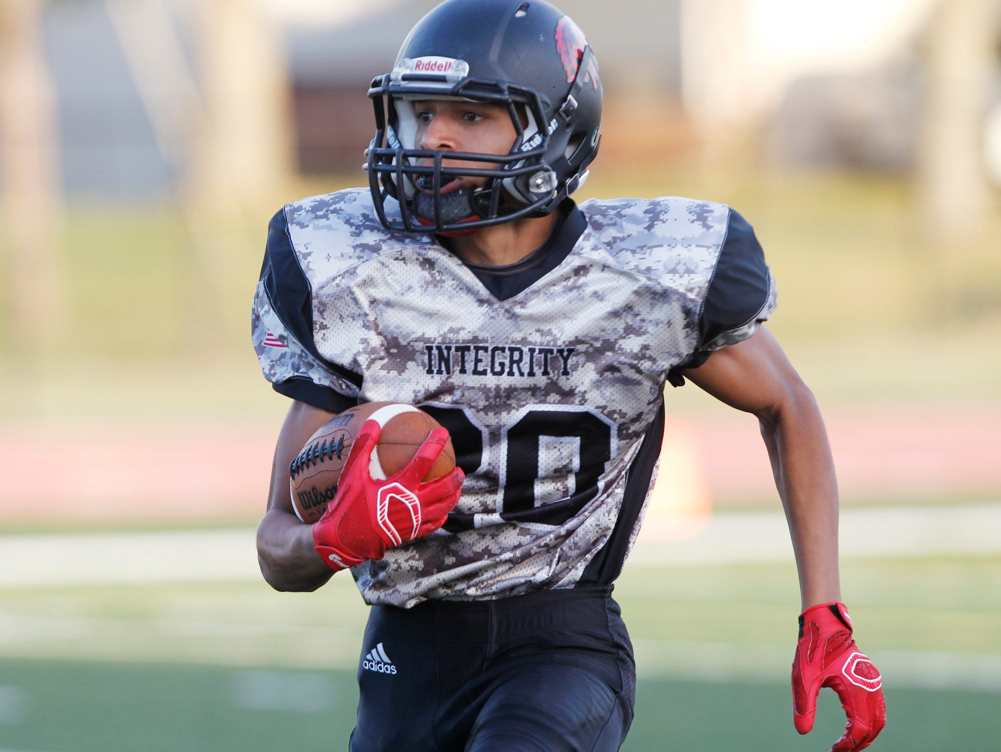 Darian Collins returns the opening kickoff 93 yards for a touchdown against Anderson Friday, September 25, 2015, in Lafayette. Jeff pounded Anderson 40-0.