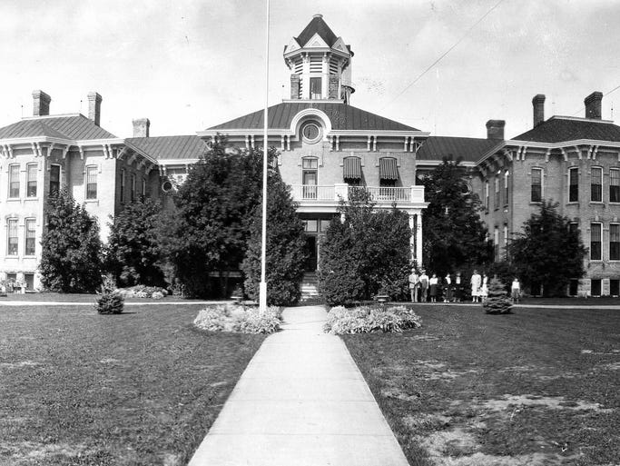 1886. Outagamie County Asylum for the Chronic Insane.