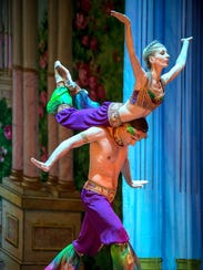 Moscow Ballet dancer Anna Radik, seen performing with
