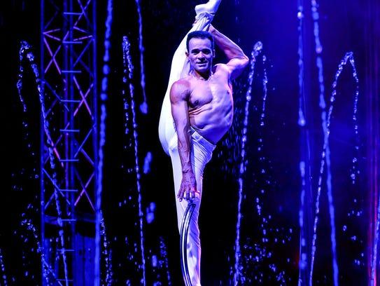 Cirque Italia will perform Friday, Saturday and Sunday