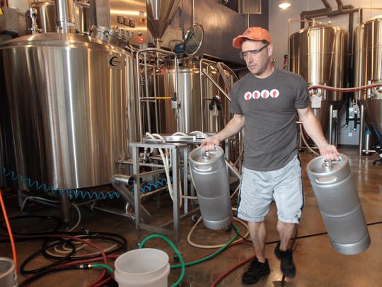 Jim Goodman, one of the owners of  Municipal Brew Works,