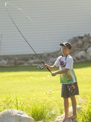 Remington Barkley of Hartland can catch bass better