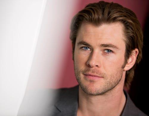 Chris Hemsworth, who stars in