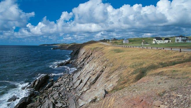 Cape Breton Highlands National Park, Nova Scotia, Canada.