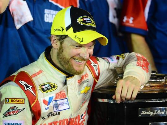 Daytona Dog Track >> Dale Jr.'s girlfriend on Daytona 500 win: 'Biggest win of his career'