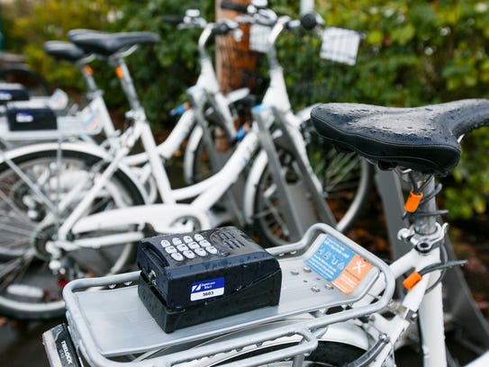To check out a bike from Zagster, users enter the bike