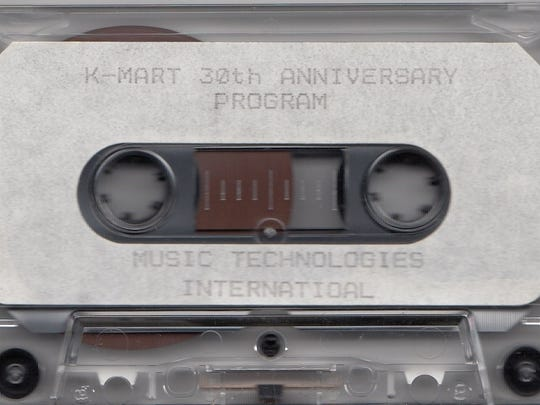 An in-store tape that played during Kmart's 30th anniversary on March 1, 1992