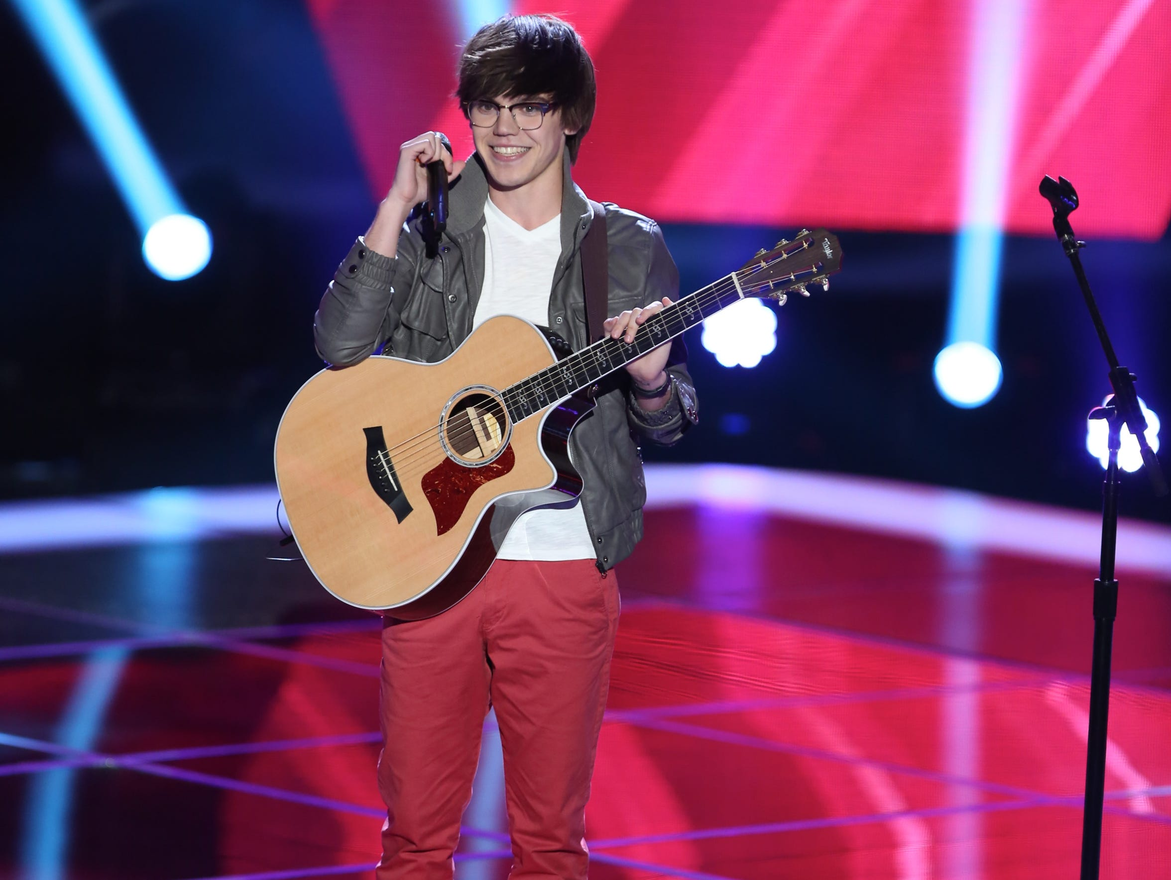 """Blind Auditions"" with Mackenzie Bourg"