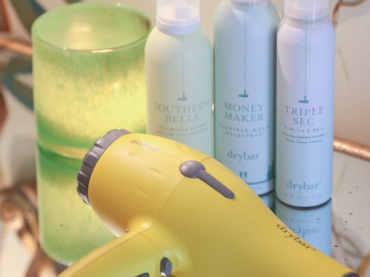 Drybar blow dryer and hair products. Oct.19, 2016