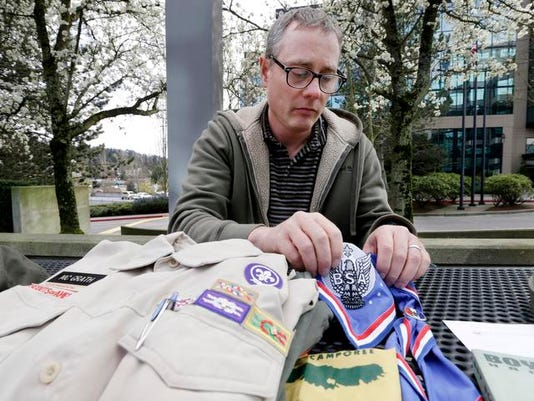 Gay Scout Leader Ousted