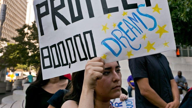 Nationwide, about 800,000 young people passed the background checks and satisfied other requirements to participate in DACA.