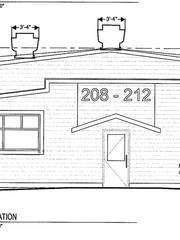 An elevation sketch from Dec. 2017 shows minor changes