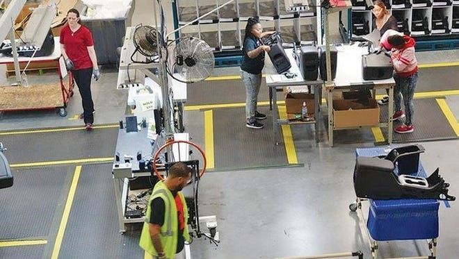 China-based Yanfeng, which assembles consoles, door panels and cockpits, is hiring 100 workers for its Louisville operation.