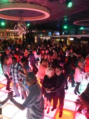 Dancers on the floor at Adelphia Restaurant in Deptford at Bob Pantano's Dance Party. Pantano will help you channel your inner Le Freak aboard the Ultimate Disco Cruise.