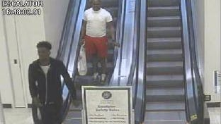 Franklin Police are asking for the public's help in identifying  the two suspects.