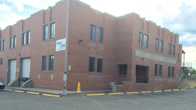 This building at 920 Front St. in the Great Northern Center in Helena now holds the state's mail services. It's part of a swap being considered.