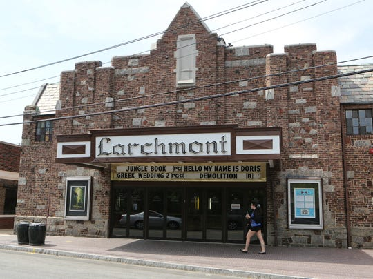 The exterior of the Larchmont Playhouse on Palmer Avenue.