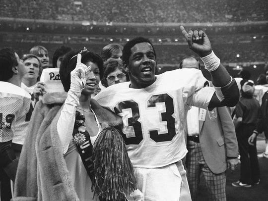 Tony Dorsett ran wild in the second half vs. Penn State