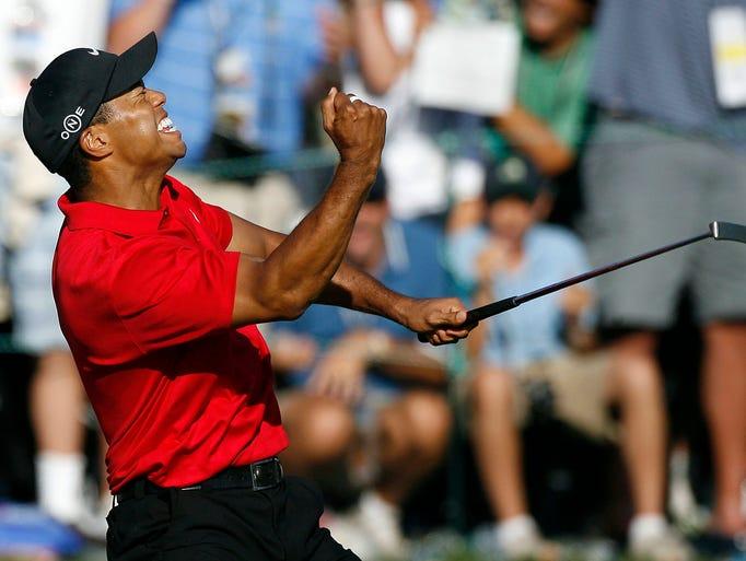 a look back at tiger woods u0026 39  last major win  2008 u s  open