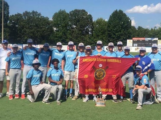 The American Legion Post 13 baseball club finished