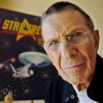 Leonard Nimoy, shown Aug. 9, 2006, died Friday, Feb. 27, 2015, in Los Angeles of end-stage chronic obstructive pulmonary disease. He was 83.