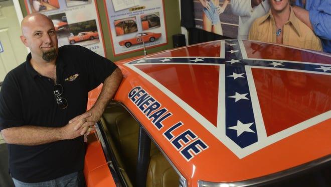 """Paul Valade/pvalade@dailyherald.comVolo Auto Museum owner and director Brian Grams says they will continue to display a General Lee made for """"The Dukes of Hazzard"""" television show despite growing criticism of the Confederate battle flag."""