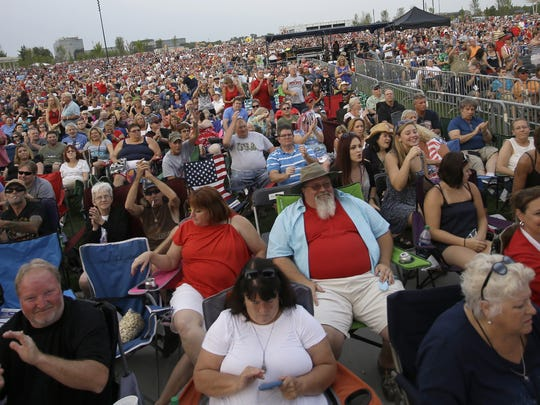 Red, White and Blue Ash is the annual Fourth of July event in Blue Ash.