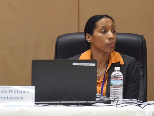 Dr. Nicole Williams, superintendent of the Poughkeepsie City School District.