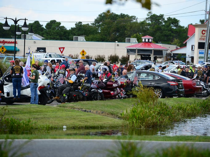 The 5th annual Operation SEAs the Day motorcade recognizing