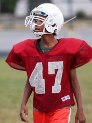 The Tindley Tigers' youngest player is freshman Joshua