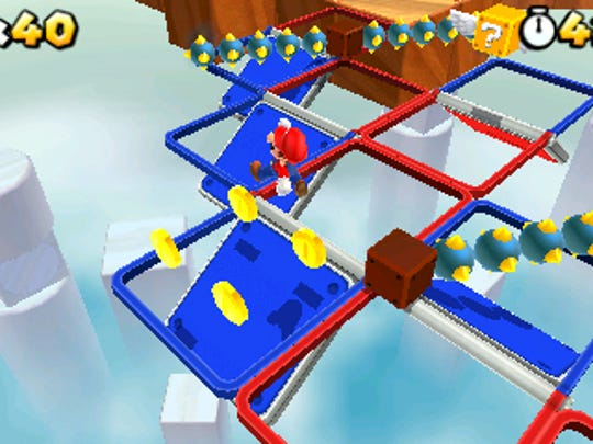 'Super Mario 3D Land,' one of six games eligible for Nintendo's offer.