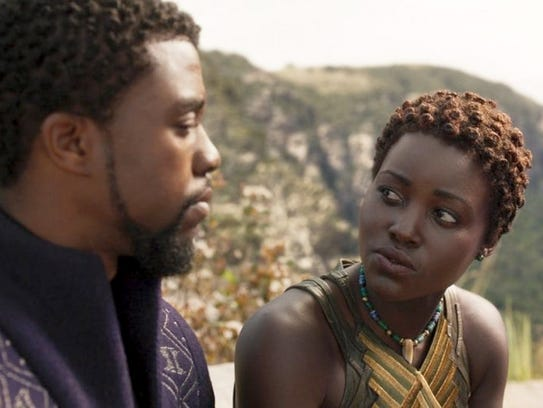 """Black Panther"" - with king T'Challa (Chadwick Boseman)"