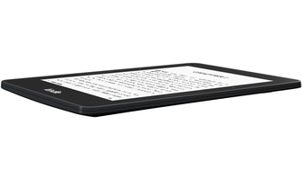 The Kindle Voyage has a sleeker design and weighs less than the Paperwhite.