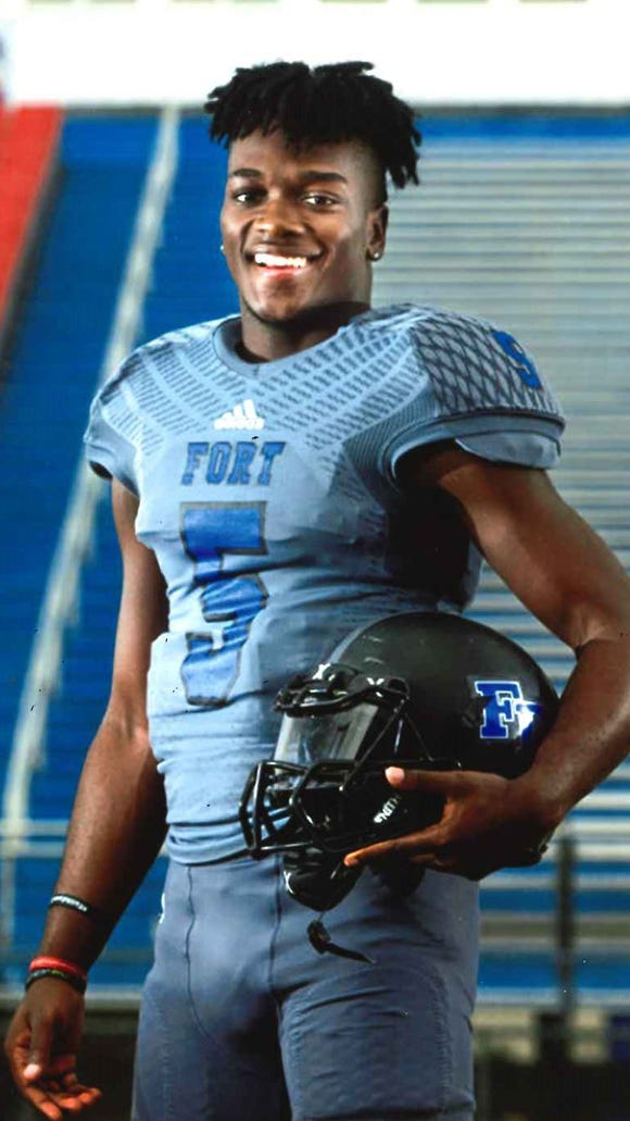 Fort Dorchester senior quarterback Dakereon Joyner, a University of South Carolina recruit, is one of five Mr. Football finalists.