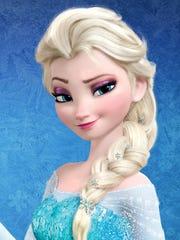 "Princess Anna and Queen Elsa from Disney's ""Frozen"""