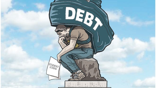 The Thinker And College Debt