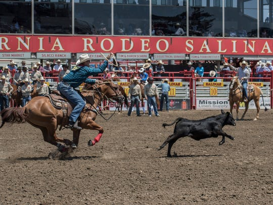 Saturday afternoon at the California Rodeo Salinas.