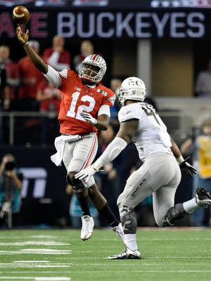 Ohio State has a lot of depth at quarterback, including Cardale Jones.